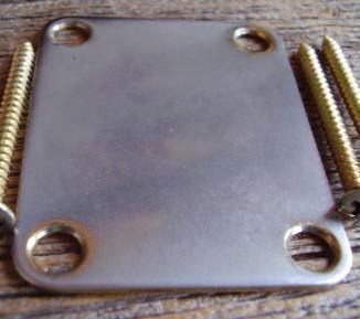 Neckplate gold relic